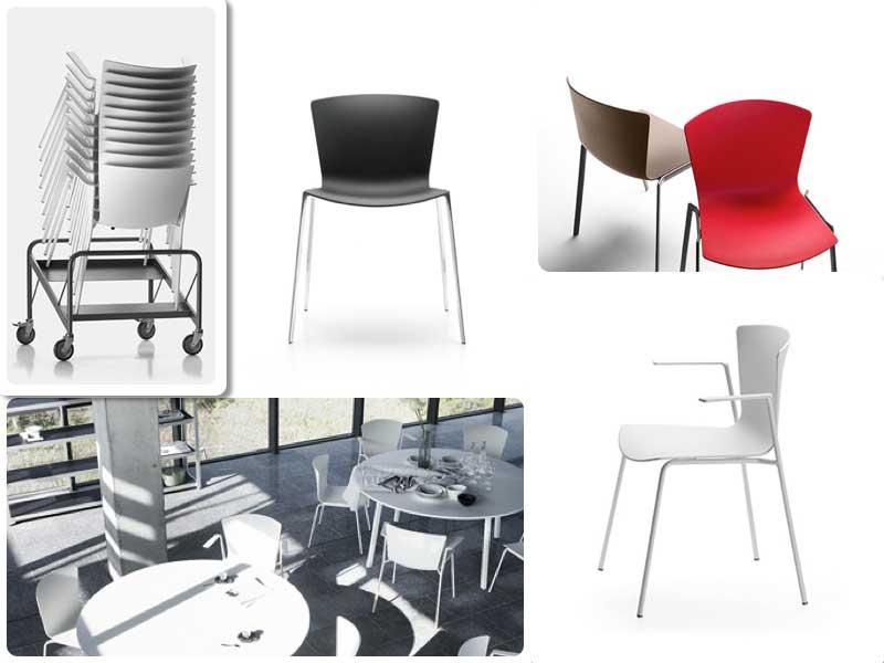 La versátil silla Slam, perfecta para establecimientos hosteleros
