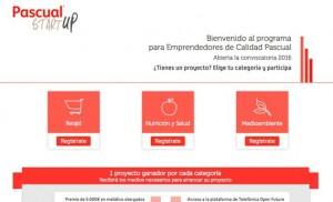 La web de los Premios Calidad Startup