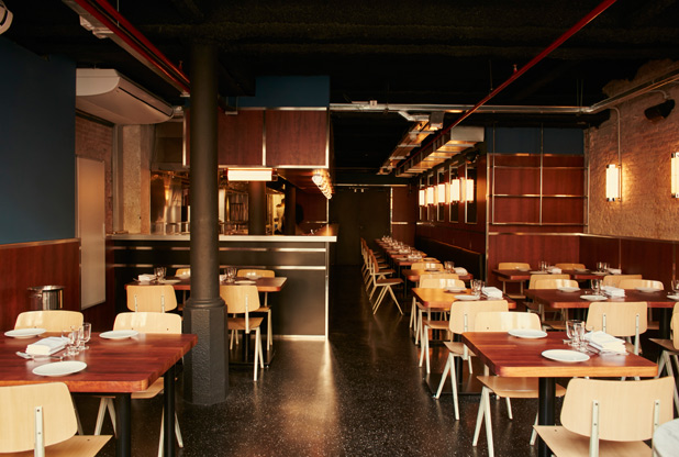 Interior de restaurante Elephant·Crocodile·Monkey