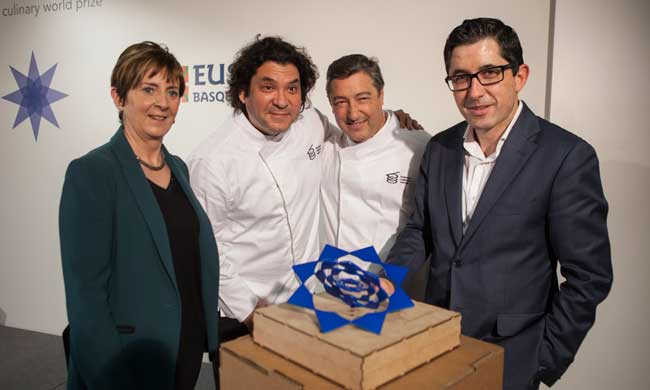 Presentación oficial del Basque Culinary World Prize