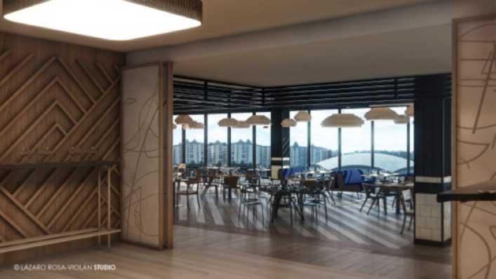 El nuevo espacio gastronómico del Camp Nou está abierto al público