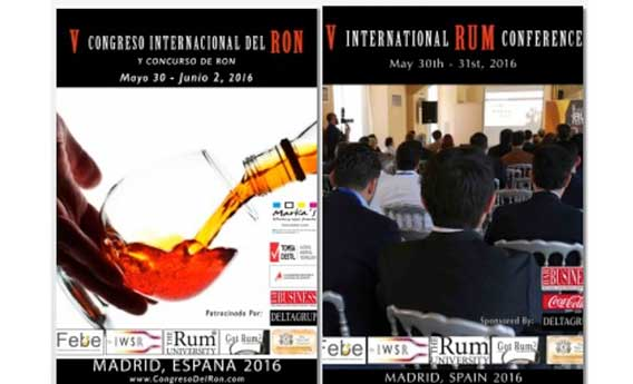 Carteles del Congreso Internacional del Ron