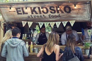 Foodtruck vintage de El Kiosko
