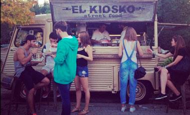 Foodtruck de El Kiosko