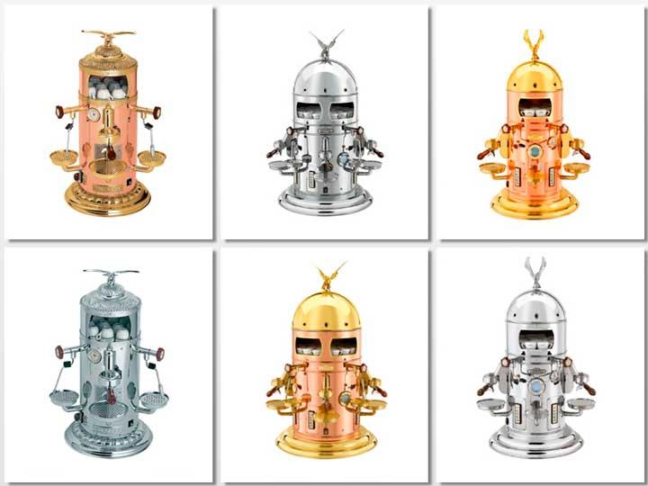 Los seis modelos de cafeteras Elektra Belle Epoque