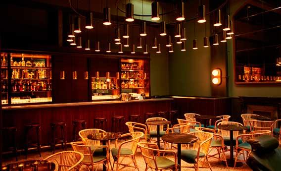 Libertine, una casa de comidas, bebidas y baile con una extensa carta de cócteles