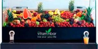 Zumos de frutas y verduras en 5 segundos con My Vitaminbar