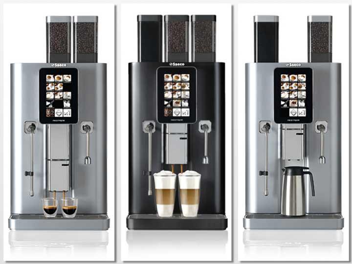 Máquinas de bebidas calientes Nextage, de Saeco
