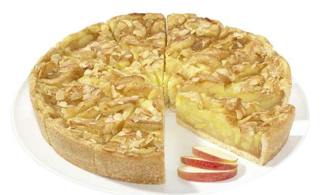Tarta de manzana vegana, de Erlenbacher