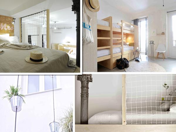 The Hat ofrece diferentes tipos de habitaciones