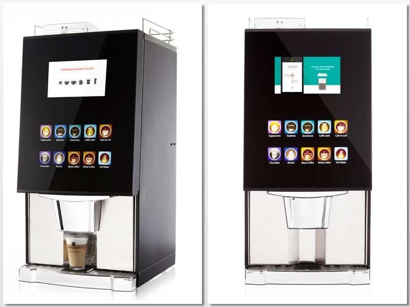 Máquinas de bebidas calientes VitroMax, de Azkoyen