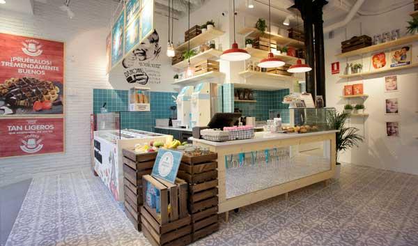 La Yogurtería Danone de la calle Argentería nº 49 de Barcelona