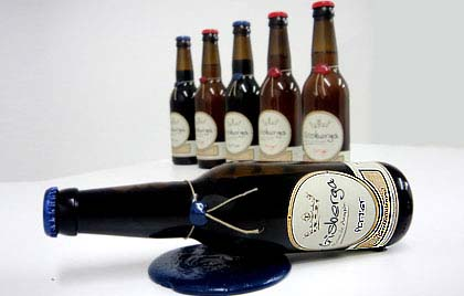 Cervezas artesanas Girberga