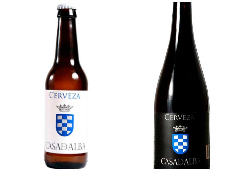 Cerveza artesanal Casa de Alba