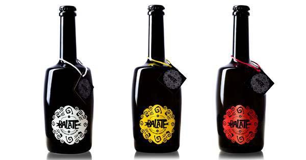 El elegante diseño de las cervezas Balate