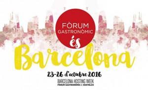 Logo del Fòrum Gastronòmic Barcelona