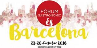 El Fòrum Gastronòmic 2016 reunirá a reconocidos chefs y pasteleros