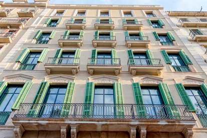 La fachada del hotel Casa Bonay