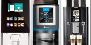 Tres máquinas de bebidas calientes de nueva generación