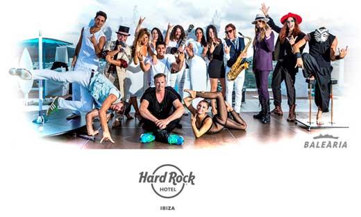 Imagen del casting del Hard Rock Hotel Ibiza
