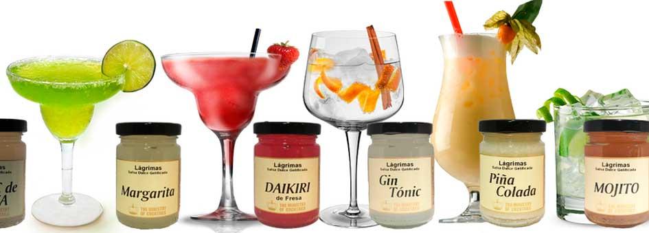 La colección se compone de hasta 20 sabores de esferas y salsas gelatinizadas