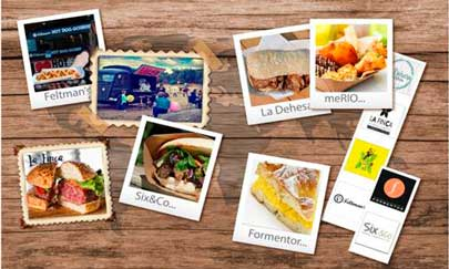 Imágenes de los foodtrucks de Street Gourmet Food