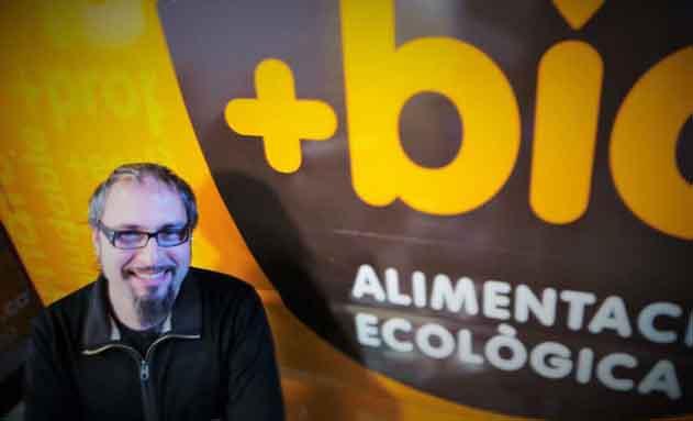 Aleix Oliva, gerente de +Bio
