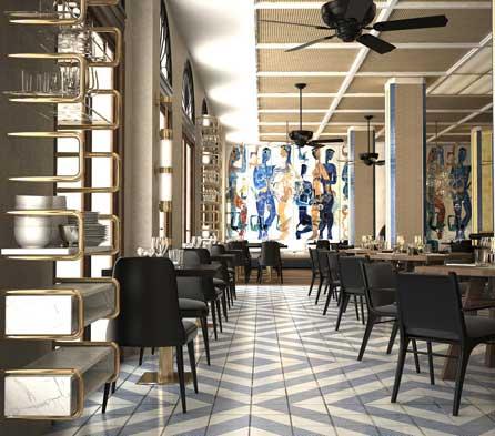 Restaurante del Gran Hotel Montesol Ibiza