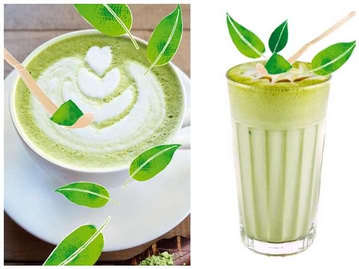 Matcha latte o frappé de matcha: dos opciomes, un mismo producto