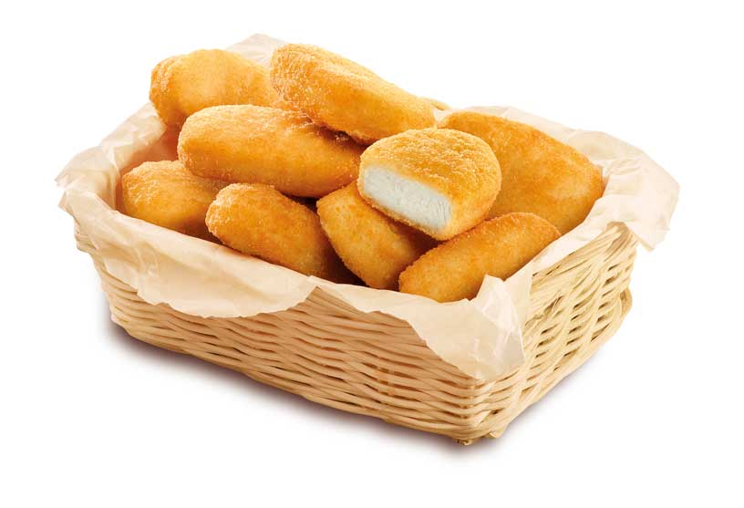 Nuggets receta Maestra, perfectos para compartir
