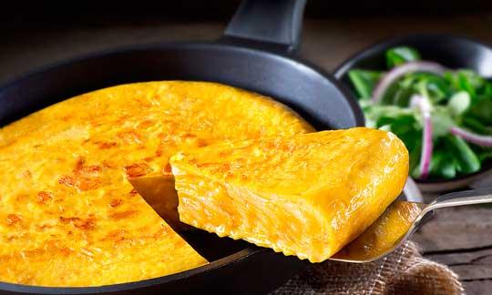 La tortilla de La Cocina de Senén, todo un manjar listo en 5 minutos