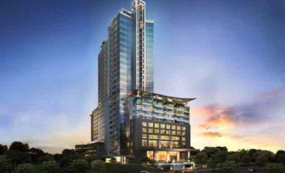 El futuro hotel Meliá Pekanbaru