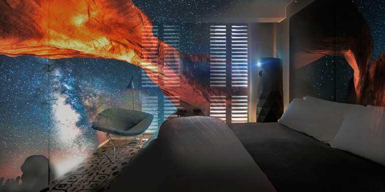 Con MadKameleon el usuario puede transformar el espacio de la habitación a a su antojo