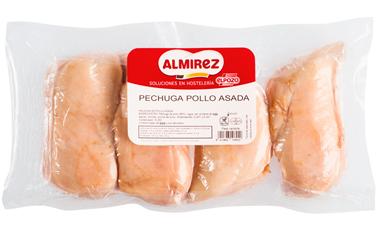 Pechugas de pollo asadas al horno de Almirez