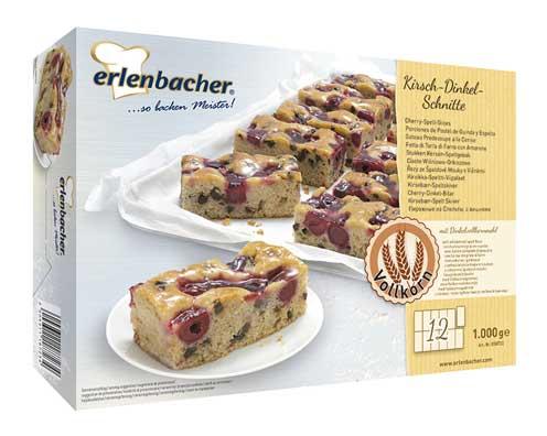 Caja de la Plancha de cereza y espelta de Erlenbacher