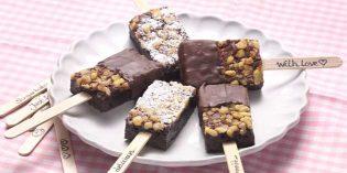 Erlenbacher sugiere dos maneras originales de presentar los brownies