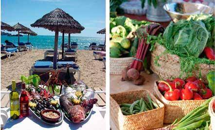 Pescados y verduras de Ibiza