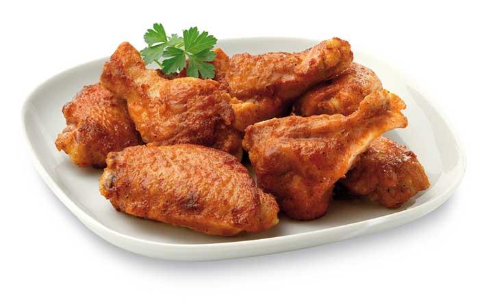 Alitas de pollo adobadas de Maheso