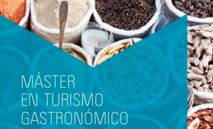 Cartel del Máster en Turismo Gastronómico