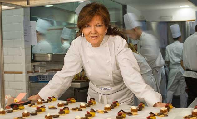 Mey Hofmann, pedagoga culinaria y maestra de cocineros