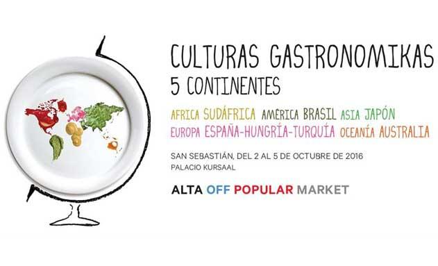 Cartel de San Sebastián Gastronomika