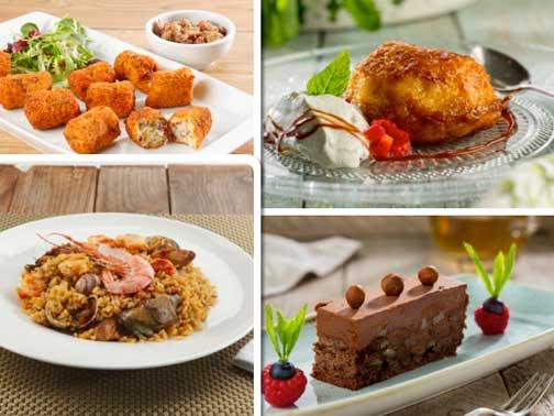 Platos sin gluten del recetario de Unilever Food Solutions