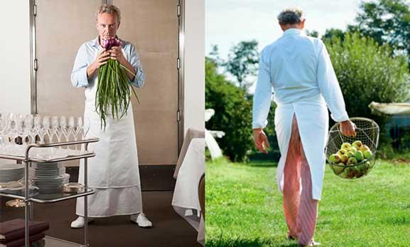 Alain Passard, chef de L'Arpège, gran amante de los vegetales
