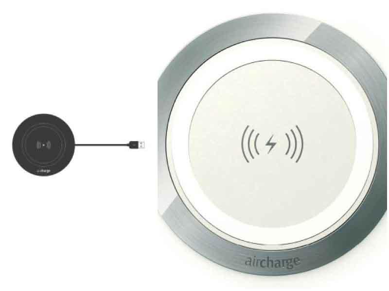 Cargador de superficie wireless