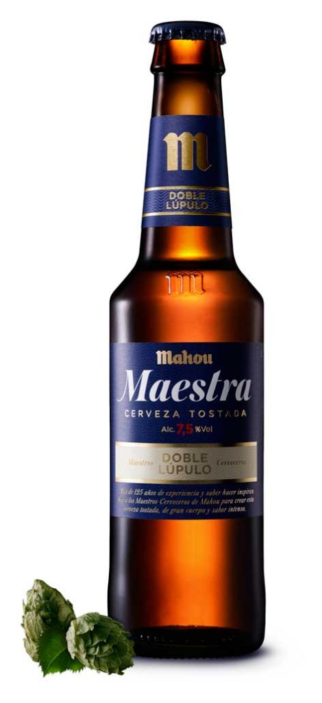 Cerveza Mahou Maestra