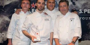 David Andrés, de nuevo ganador del concurso S.Pellegrino Young Chef