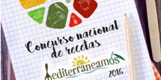 Convocado el I Concurso Nacional de Recetas Mediterraneamos 2016