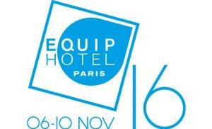 Logo de la feria Equiphotel 2016
