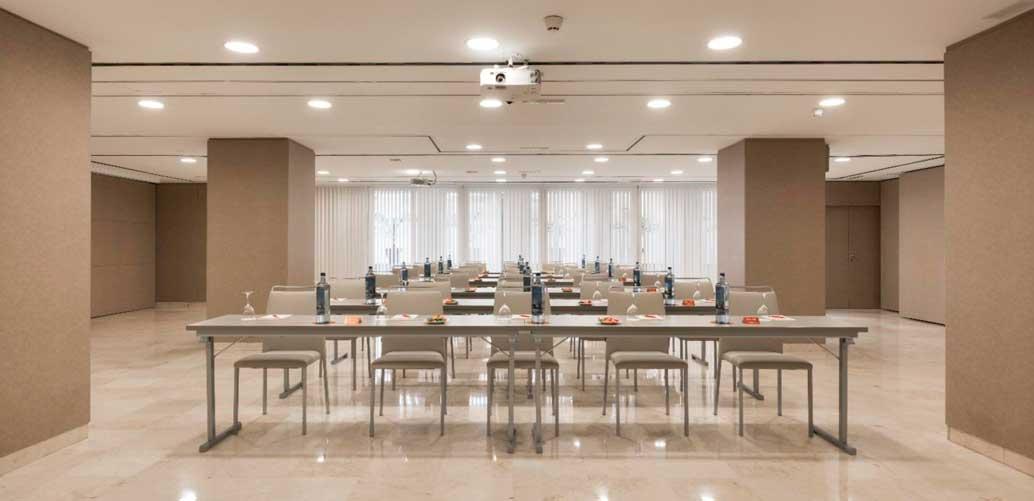 Sala de reuniones del hotel NH Collection Colón