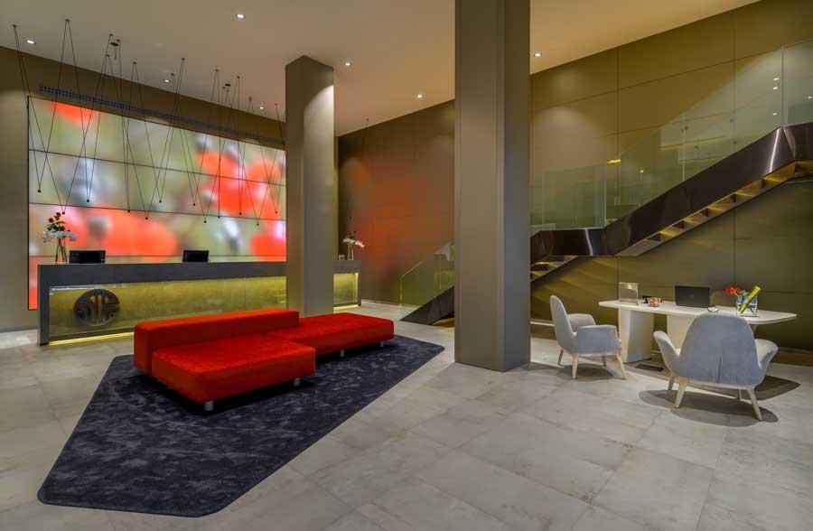 Lobby del NH Collection Colón